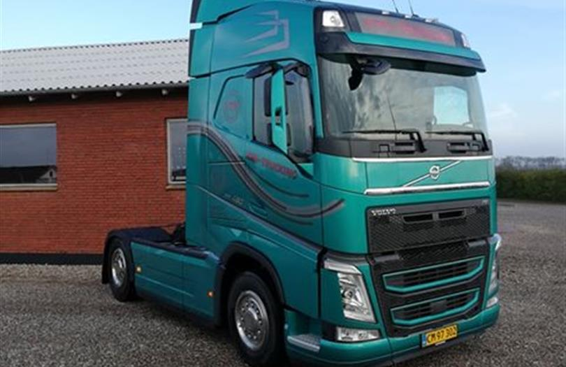 Volvo med ny Turbo Compound motor til vognmand i Bevtoft